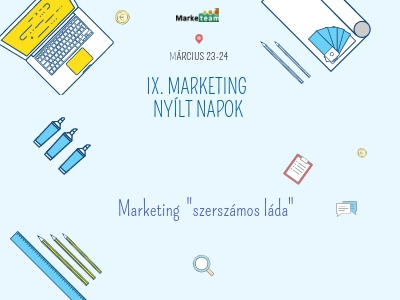 IX. marketing nyilt napok